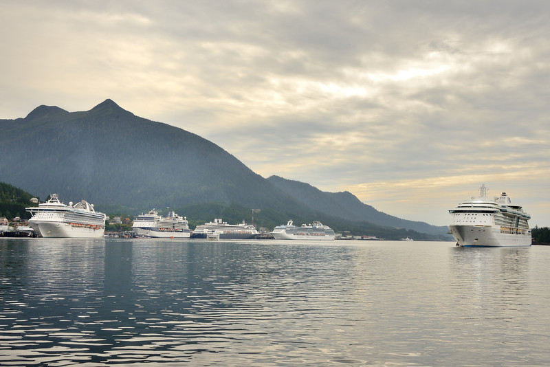 Ketchikan is a favorite stop on the Inside Passage Cruise.