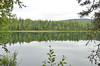 Vies of X lake in the middle of the Talkeetna Lakes